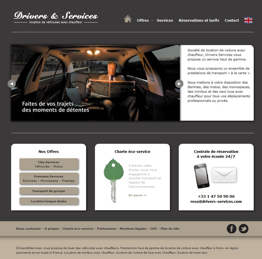 site Drivers&Services