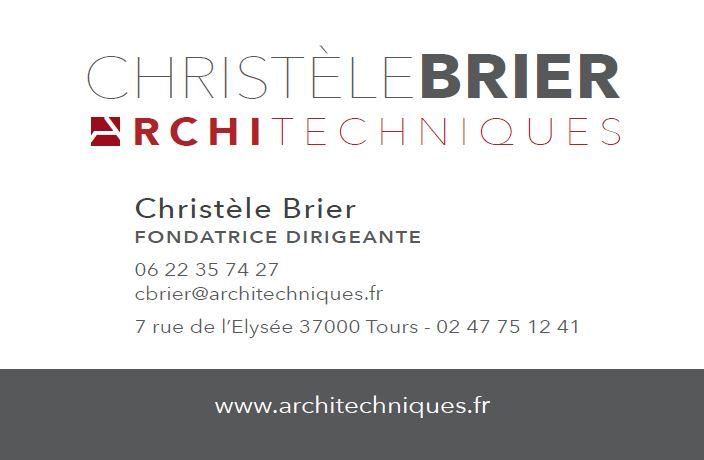 Carte de visite C Brier Architechniques